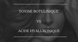 Le botox et l'acide hyaluronique ne traitent pas le même type de rides